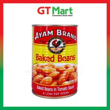Ayam Brand Baked Beans In Tomato 425g