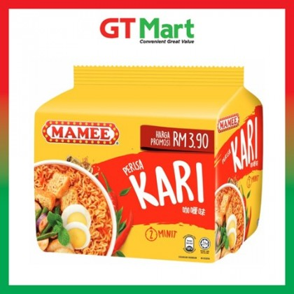 Mamee Premium Curry Flavoured Noodles 5 x 81g